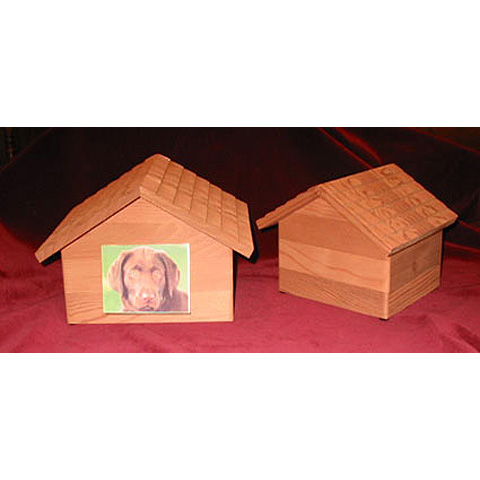 Redwood Doghouse Urn: Large Pets $135 / Small & Medium Pets $115