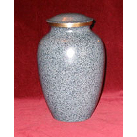 Earth-tone Gray Urn: $135